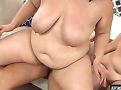 2 Plumpers Share A Fat Dick