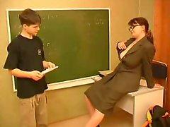 Small Guy With A Taller Teacher