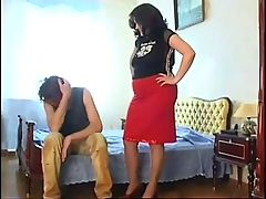 Mature Russian Chick Seduces And Facesits A Younger Guy