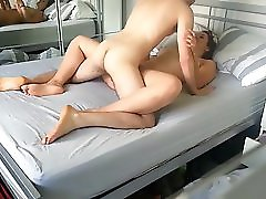 Stud Fucks & Creampie His Horny Gf Homemade Hot Couple