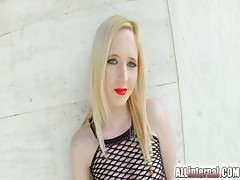 Blonde Alice Is Filled Up With Cum