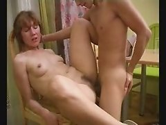 Mature Has Sex With Young Lover Pt2