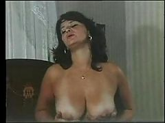 Swedish Retro Tanned busty mom