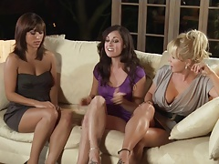 Brandin Rackley Melissa Jacobs And Reena Sky Pleasure Spa