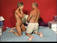 Young Girl Is Reluctant To Have Sex With Old Man
