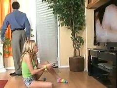 Babysitter Nicole Ray Gets Caught Watching Porn