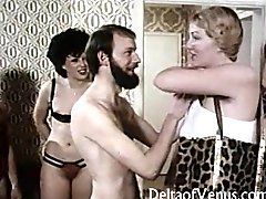 Vintage Euro Interracial Porn 1970s