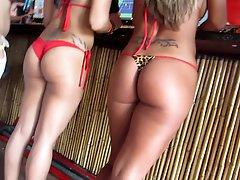 Beach Bar Thong Bikini