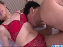 Sexy Porn Play Along Lingerie Babe Reina Nishio