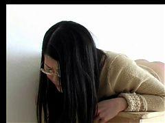Asian Girl Spanked Hard