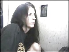 Webcam Chick Oozes Cum C3