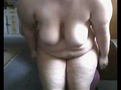 Very Horny Fat Bbw Gf Playing With Her Pussy