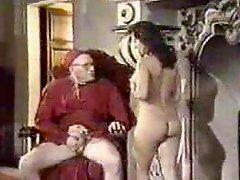 Retro Oral Creampie With Nun