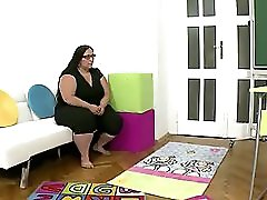 Lesbian Interracial Threesome With An Old Fat Woman White Teen And Black Teen Girl