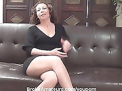 Real MILF Porn Casting Video And Facial