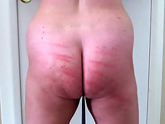 Vacations Set 15 Caning Strokes On The Ass