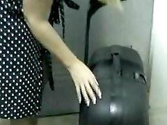 Bbw Wife In Sheer Tan Pantyhose And White Panties Gives Upskirt Views