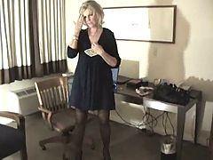 Hot Mature Blonde Anneke Pov