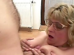 Chubby Milf Titty Fucking Shots Video