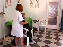Older Guy Fucks Young Nurse