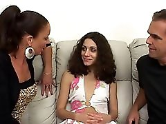 Teen Missy Gets Analed Under The Guidance Of Milf Vanessa