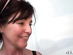 Sextape Of A French Mature Getting A Black Cock In Her Ass