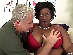 Sexy Black Plumper Marliese Morgan Gets Fucke