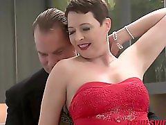 Short Haired Milf Kali Karinena Wants A Huge Cock Inside Her