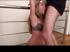 Slapped French Deepthroat Humiliation 1