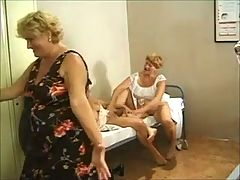 3 Grannies In A Orgy With 2 Double Penetrations