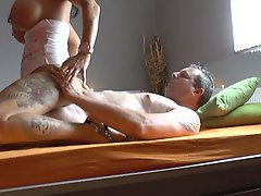 Hot Busty German Cougar Suck And Fuck