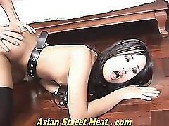 Asian Teen Protrude