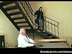 Her First Garandpa Experience
