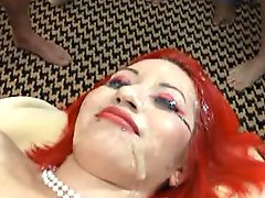 21114 Pierced Redhead Bukkake